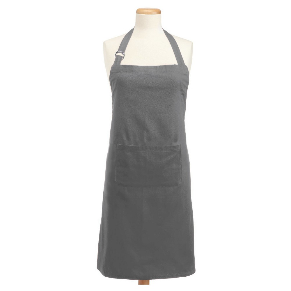 Chino Chef Apron - Design Imports, Gray