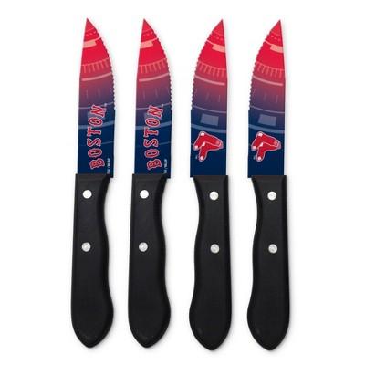 MLB Boston Red Sox Steak Knife Set