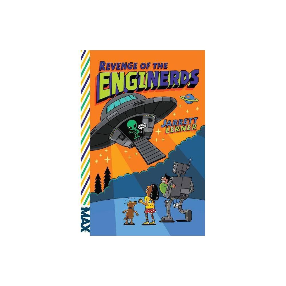 Revenge Of The Enginerds Max By Jarrett Lerner Paperback