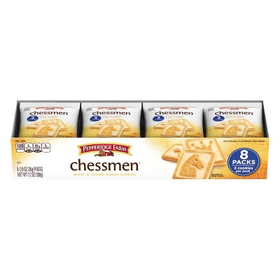 Pepperidge Farm Chessmen Butter Cookies - 8ct