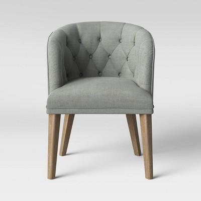 Catonsville Barrel Chair Gray - Threshold™