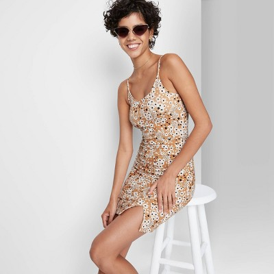 Women's Slit Bodycon Knit Dress - Wild Fable™