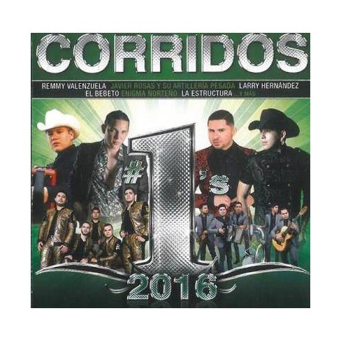 Various - Corridos #1's 2016 (CD) - image 1 of 1
