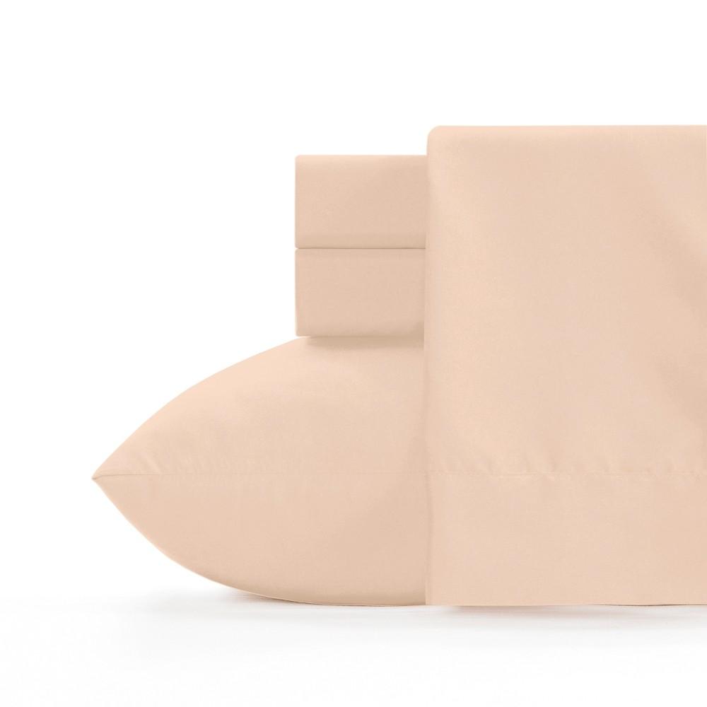 Full Microfiber Sheet Set Tan - Crayola, Brown