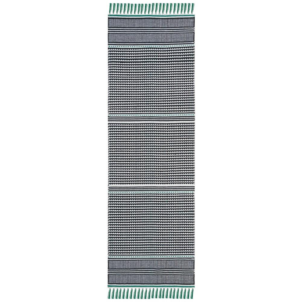 2'3x7' Stripe Woven Runner - Safavieh, Blue/Multi