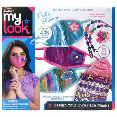 My Look Design Your Own Face Mask Kit by Cra-Z-Art