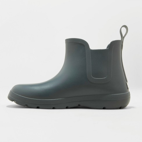 4c3668f45eb Men's Totes Cirrus Chelsea Rainboots - Gray 11