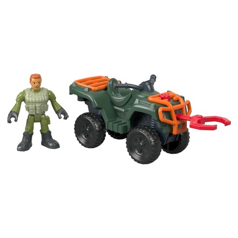 Fisher-Price Imaginext Jurassic World ATV and Technician - image 1 of 5