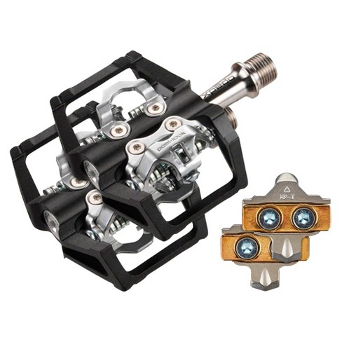 Xpedo Baldwin Pedals - Dual Sided Clipless with Platform Aluminum 9/16 Black - image 1 of 1
