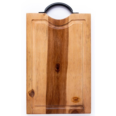 """15""""x 7"""" BBQ Cutting Board with Steel Handle - Superior Trading Co. - image 1 of 3"""