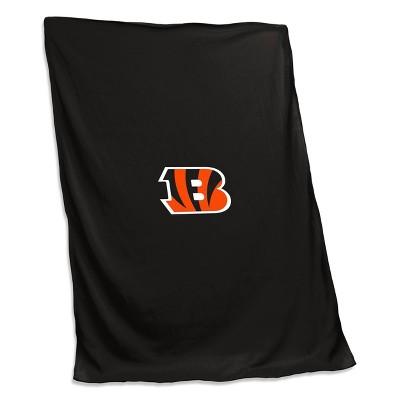 NFL Cincinnati Bengals Sweatshirt Blanket