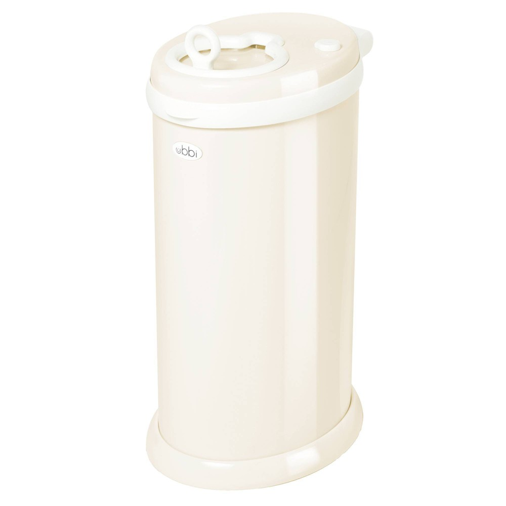 Image of Ubbi Steel Diaper Pail - Ivory