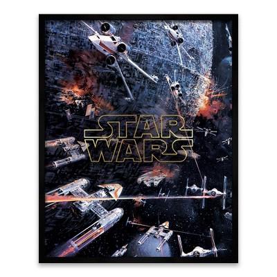 Star Wars® Episode 8 Framed Wall Poster (20 x16 )