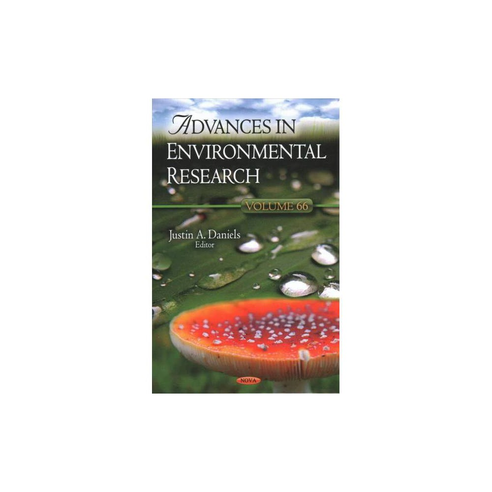 Advances in Environmental Research - (Hardcover)
