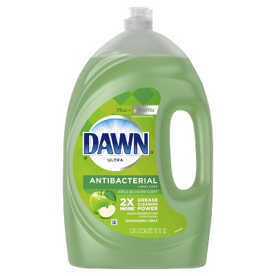 Dawn Ultra Antibacterial Hand Soap Apple Blossom Dishwashing Liquid Dish Soap - 75 fl oz