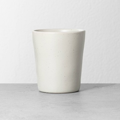 Refined Stoneware Tumbler Speckled Natural - Hearth & Hand™ with Magnolia