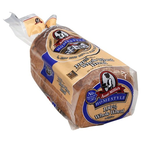 Aunt Millies 100% Whole Wheat - 24 oz - image 1 of 1
