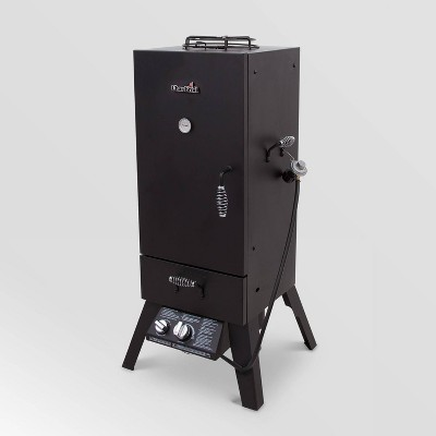 Char-Broil 595 Vertical Gas Smoker 12701705 Black