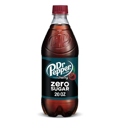 Dr Pepper Cherry Zero Sugar - 20 fl oz Bottle