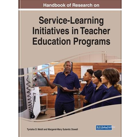 Handbook of Research on Service-learning Initiatives in Teacher Education Programs -  (Hardcover) - image 1 of 1