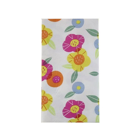 20ct Easter Floral Disposable Towels - Spritz™ - image 1 of 1