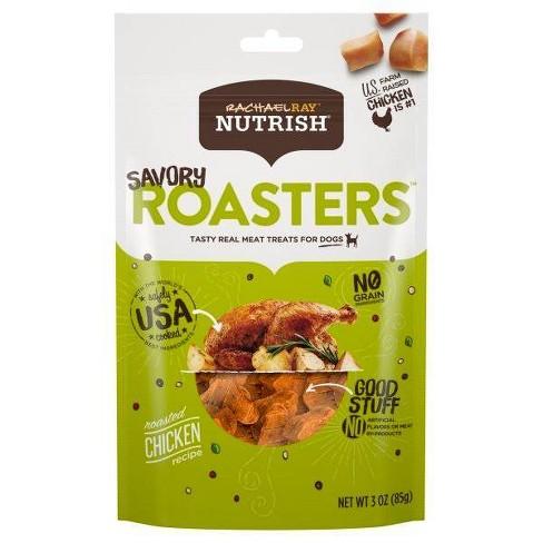 Rachael Ray Nutrish Savory Roasters Grain Free Roasted Chicken Recipe Dog Treats - image 1 of 3