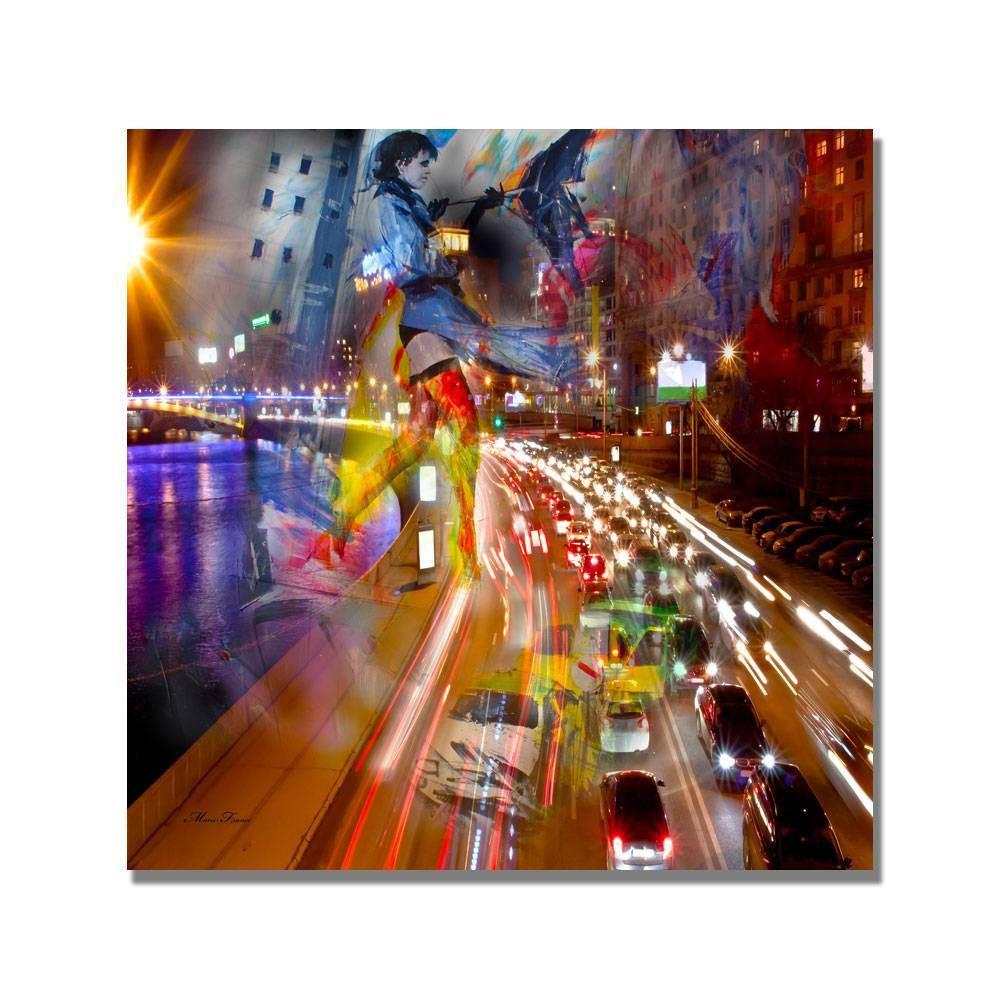 35 34 X 35 34 Traffic By Masters Art Trademark Fine Art