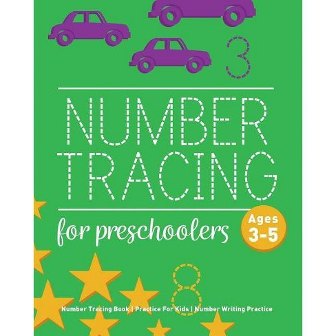 Number Tracing Book For Preschoolers - by  Childrens Notebooks (Paperback) - image 1 of 1