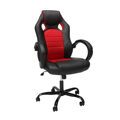 High Back Gaming Chair with Padded Loop Arms - OFM