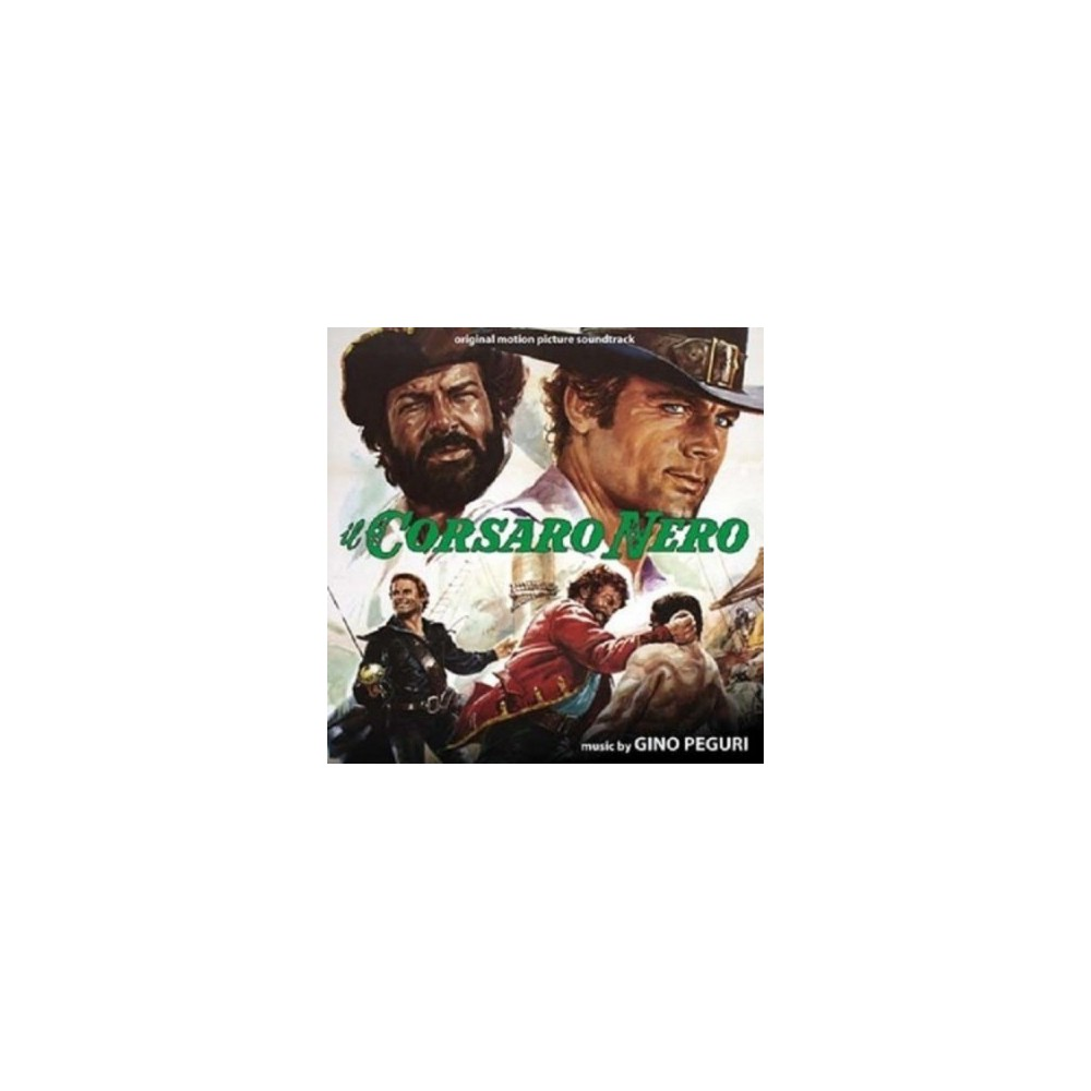 Gino Peguri - Il Corsaro Nero (Ost) (Vinyl)