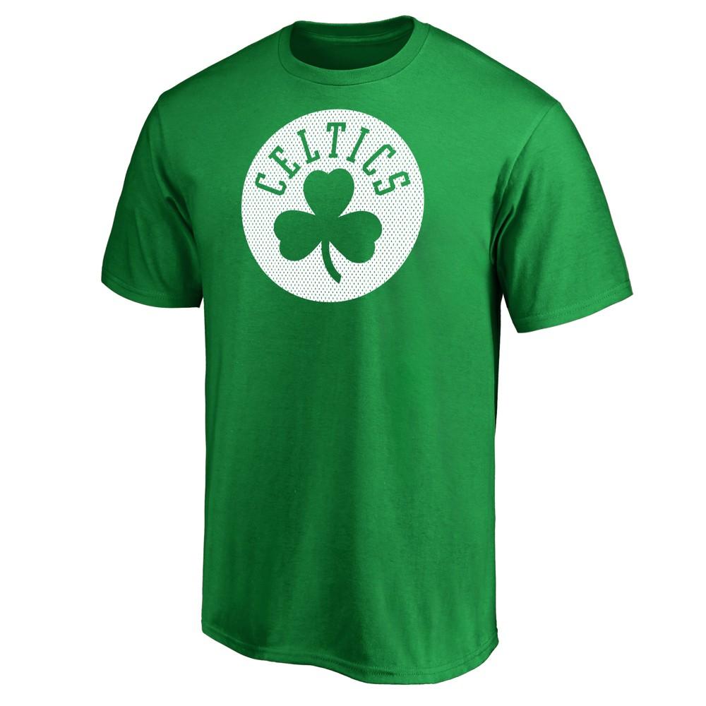 Boston Celtics Men's Monochrome Standard T-Shirt - S, Multicolored