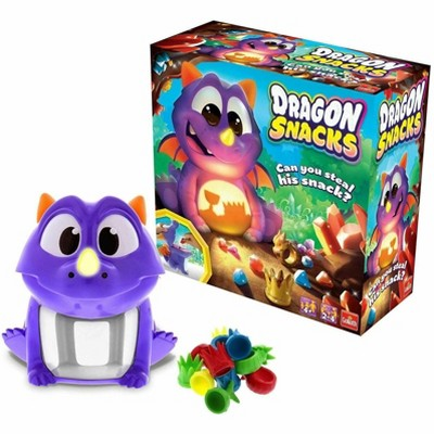Goliath Games Dragon Snacks Memory Game | 2-4 Players