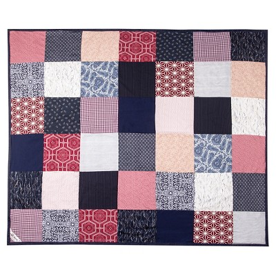 Picnic Time Festival Blanket Patchwork American Made