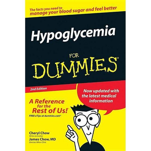 Hypoglycemia for Dummies - (For Dummies) 2 Edition (Paperback) - image 1 of 1