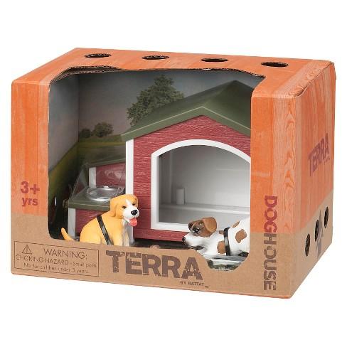 Terra Miniature Animal Dog House 4 Pc Target