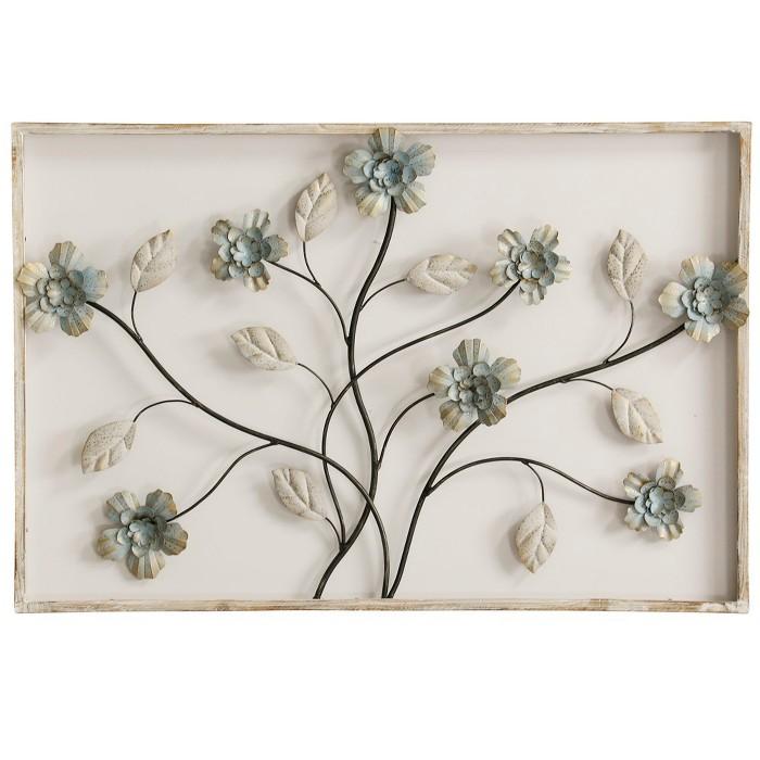 "24"" Framed Floral 3 D Decorative Wall Art - StyleCraft - image 1 of 2"