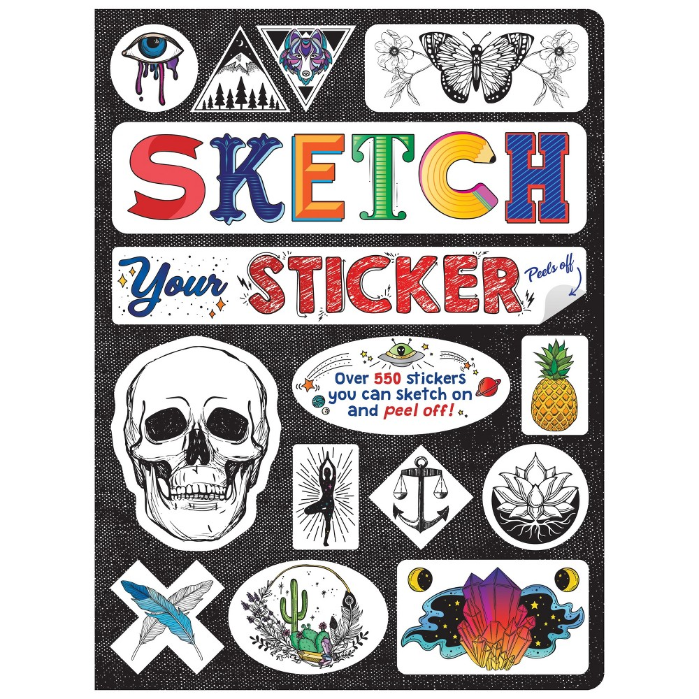 Image of Sketch Your Sticker - Piccadilly
