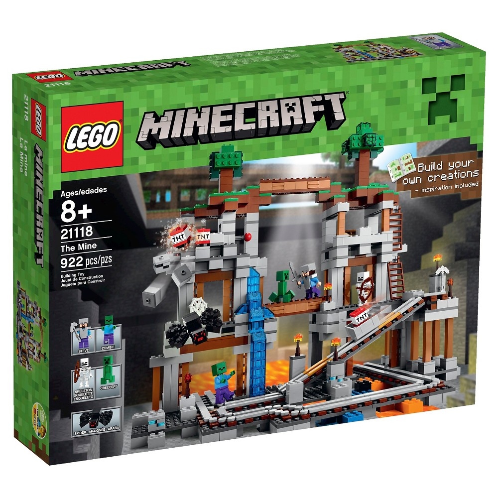 LEGO Minecraft Creative Adventures The Mine 21118