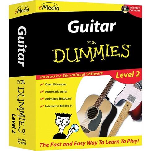 eMedia Guitar For Dummies Level 2 - CD-ROM - image 1 of 2
