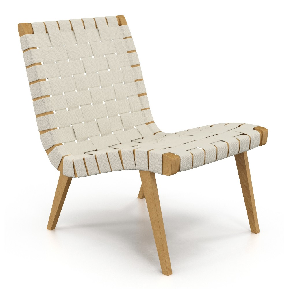 Weave Lounge Chair Natural - Aeon