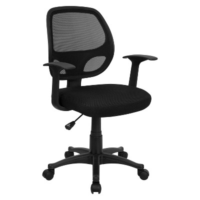 Mid-Back Mesh Computer Chair Black - Belnick
