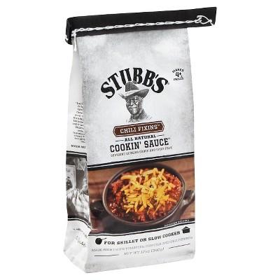 Stubb's Cookin' Sauce Chili Fixins 12oz