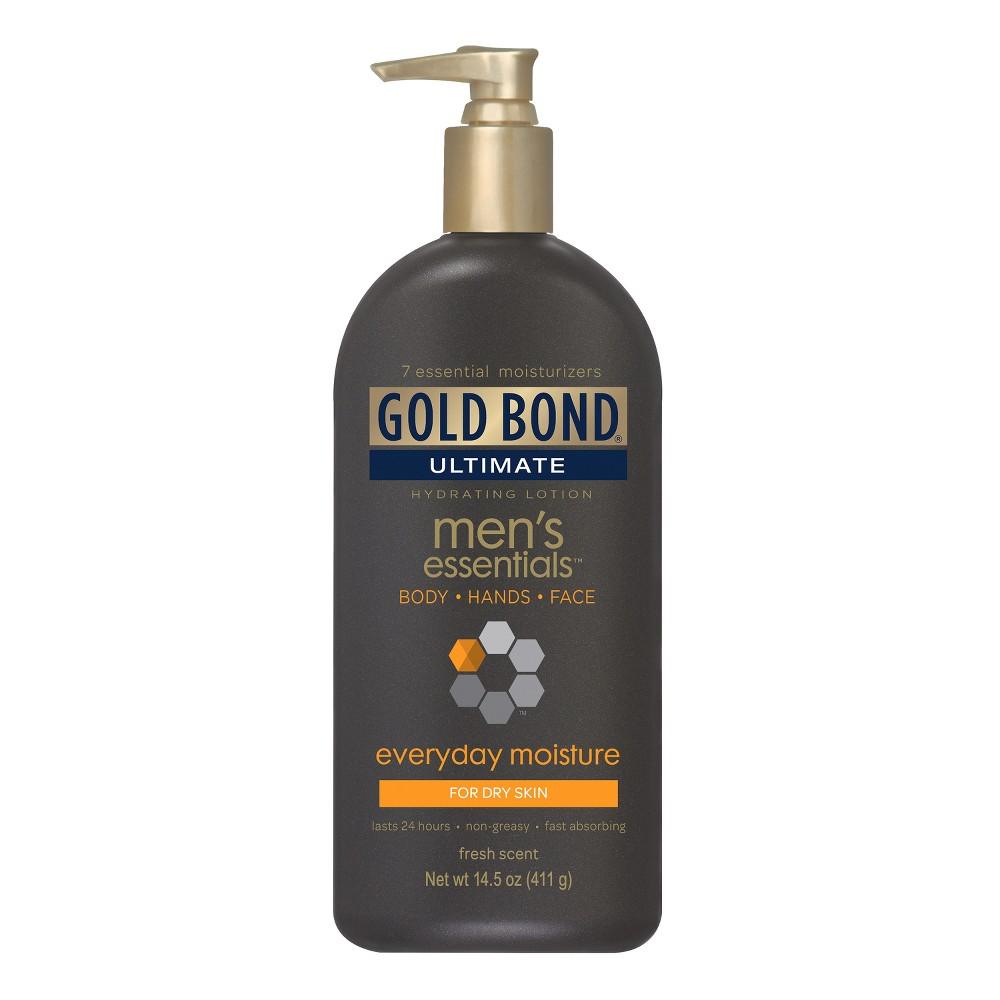 Image of Gold Bond Men's Essentials Hand Face and Body Lotions - 14.5 fl oz