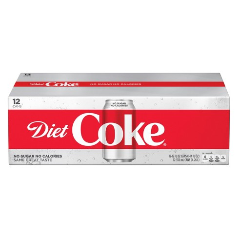 12 pack of diet coke a day