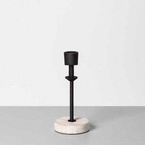 Wood & Metal Single Candle Holder - Hearth & Hand™ with Magnolia - image 1 of 2