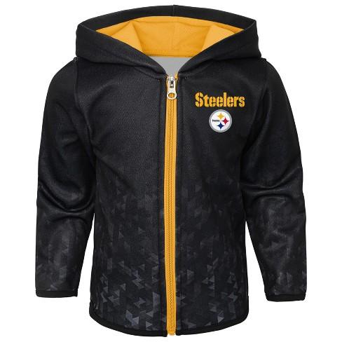 519b4e714 NFL Pittsburgh Steelers Toddler Cheer Loud Sublimated Full Zip Hoodie