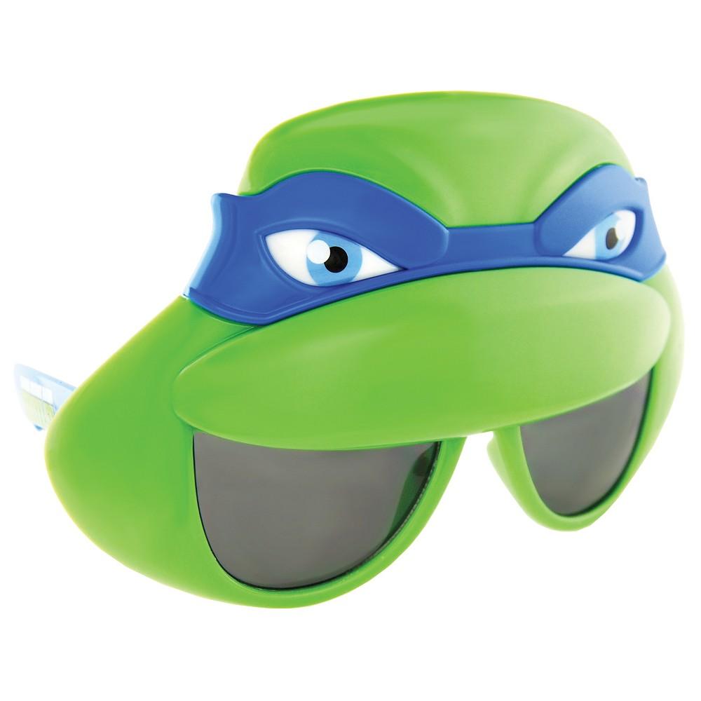Sunstache Mutant Leonardo Glasses - One Size, Blue