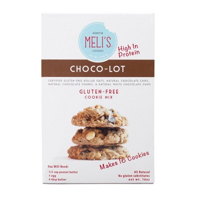 Meli's Choco-Lot Gluten Free Cookie Mix - 1lb