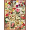 Eurographics Inc. Roses Smithsonian Seed Catalogues 1000 Piece Jigsaw Puzzle - image 2 of 4