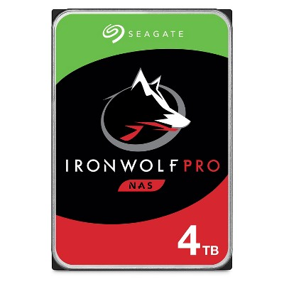 Seagate IronWolf 4TB NAS Internal Hard Drive HDD - 3.5 Inch SATA 6 Gb/s 5900 RPM 64MB Cache for RAID Network Attached Storage (ST4000VN008)